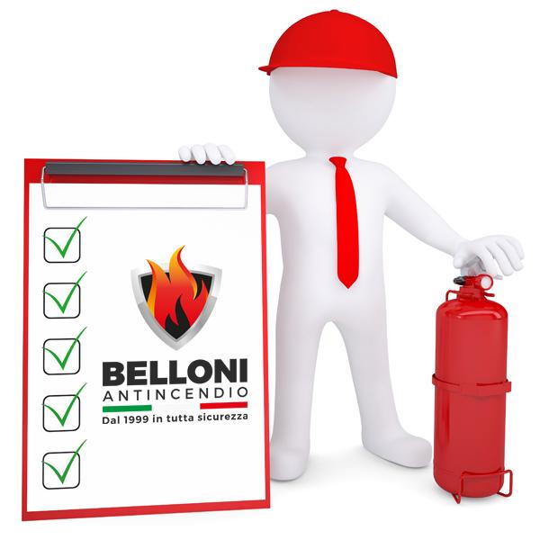 Belloni Antincendio - Prodotti - Rilascio documentazione e stesura pratiche antincendio